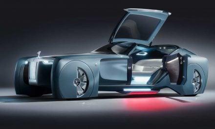 Rolls-Royce 103EX prima viziune futurista a constructorului englez