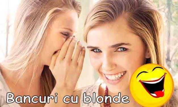 Bancuri cu Blonde de prin lume adunate