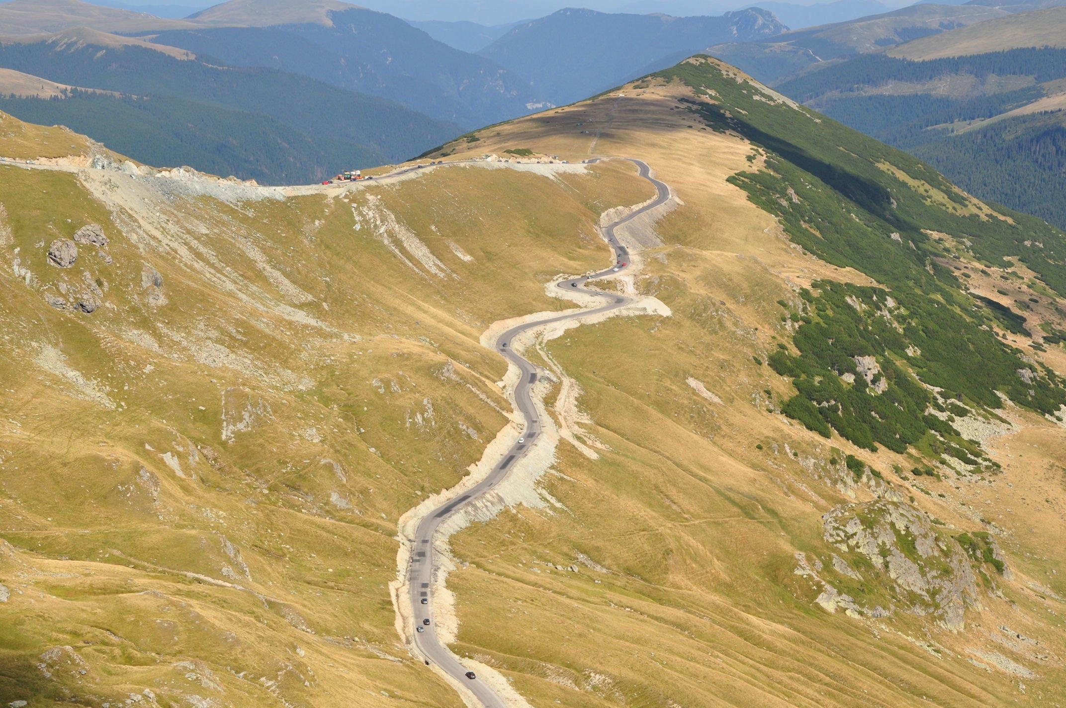 obiective turistice Transalpina