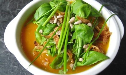 Supa crema de legume pentru o cina sanatoasa