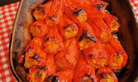 Reteta de ardei kapia umpluti si preparati la cuptor
