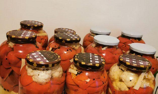 Gogosari gustosi la borcan pentru iarna