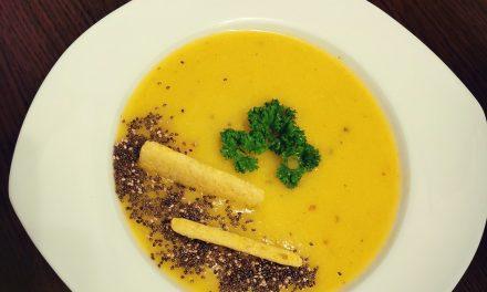 Supa crema gustoasa de praz cu cartofi